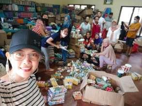 Volunteers are our heroes