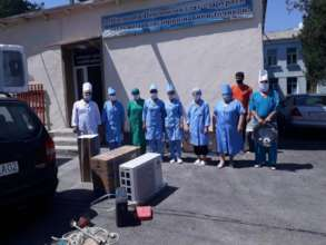 Equipment Delivery Ceremony