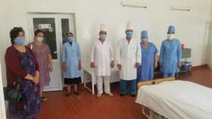 "Staff of Resuscitation Unit and PO ""Sadoqat"""