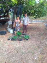 Couple from rural community and their production