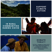 Climate action in rural communities during COVID