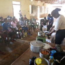 Buns training for FGM survivours in Akwuke