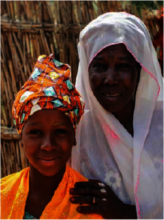 Haoua and her daughter, Habiba