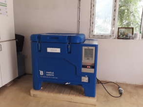 New vaccine refrigerator provided by GOH
