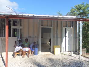New APF Clinic under construction