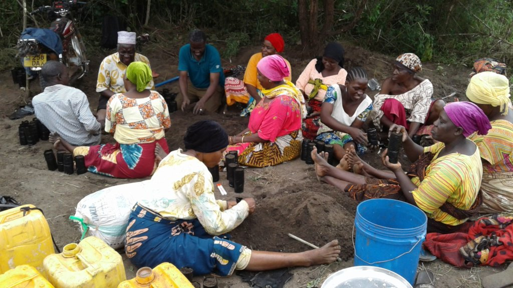 Water for Agroforestry in two villages in Tanzania