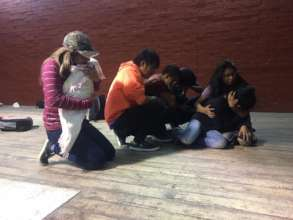 Theater workshop in Santa Cruz del Quiche