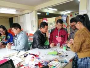 Punto Crea workshop for teachers