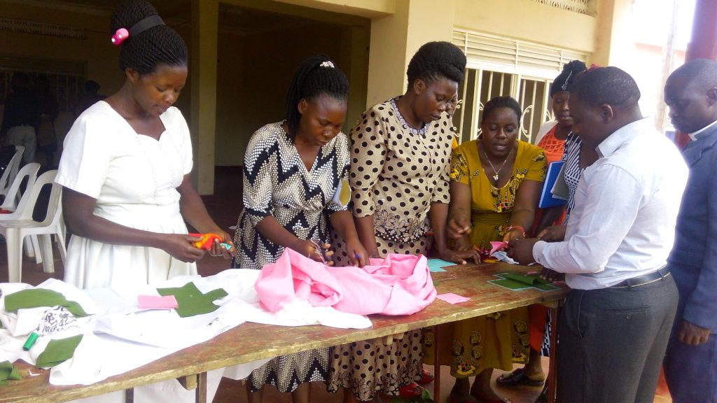 Train 100 men & 40 boys in Uganda on menstruation