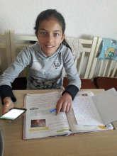 Esmerelda is a student at Amaro Tan. Homework!
