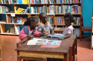 Pre-school Children Reading