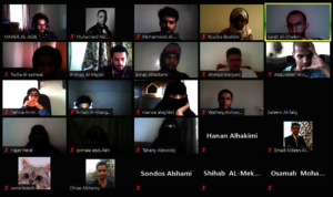 Students Attending The Bootcamp Online