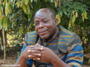 Vie Sauvage founder and president, Albert Lokasola
