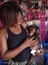 Mme. Rebecca with Boma