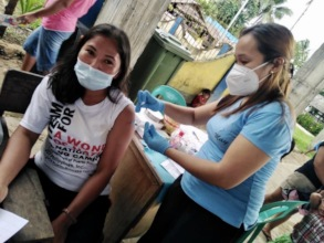 A young woman receives DMPA: 3 months' protection