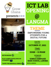 Celebrate the opening of the IT lab with us!