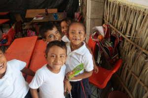 School dining room for 286 children in Oaxaca