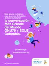 Invitation to become a SOLE Ambassador!