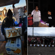 Fushe Kosove families supported during the floods