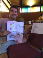 Thank you drawings for an amazing volunteer