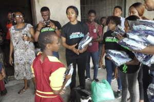 giving public school children free uniforms