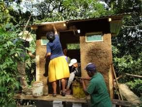 Composting dry latrines - Letrinas secas