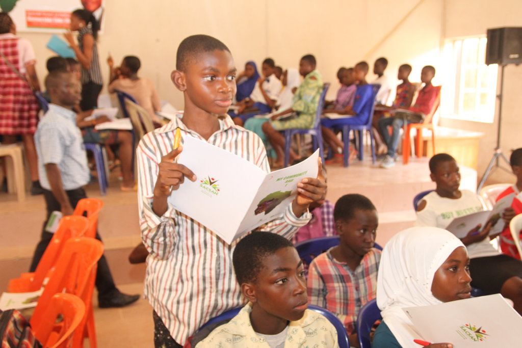 Careers Fair for 2000 yr10-12 students in Lagos