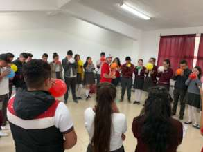 Workshop in public high schools, Queretaro, Qro.