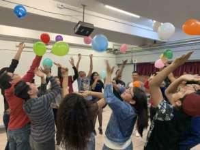 Workshop in public high schools,CDMX.
