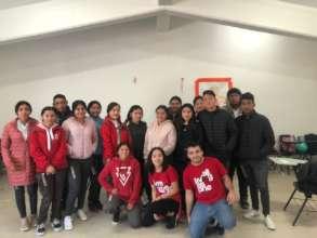 Workshop in public high schools, Queretaro, Qro.