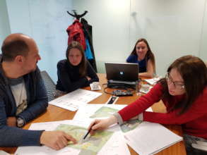 Setting the schoolyard plans for the Green Centre