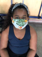 Wearing a mask for sports at ACER