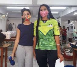More masks made by Eldorado Textiles at ACER