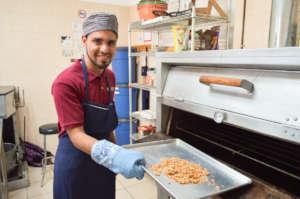 Fernando baking granola