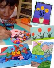 Jorge Luis and some of his creations