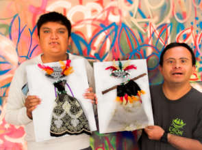 Jorge Luis and Moises, our star painters