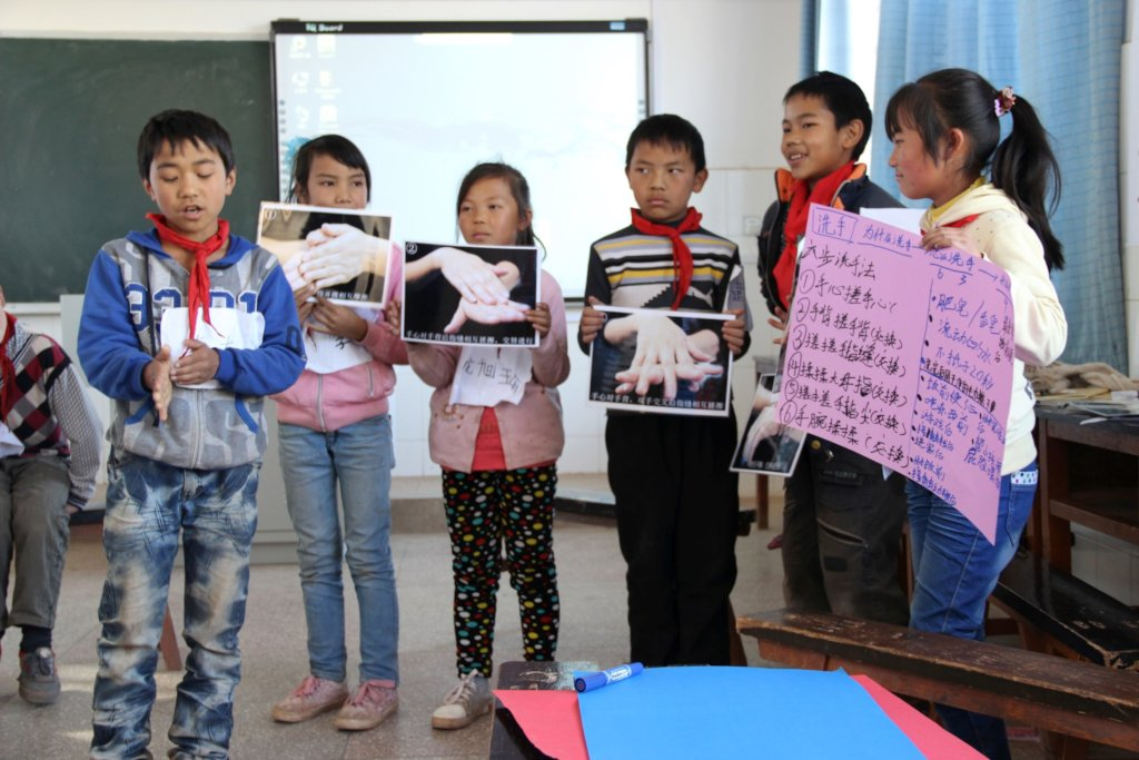 Empower Children to Spread Health in Rural China