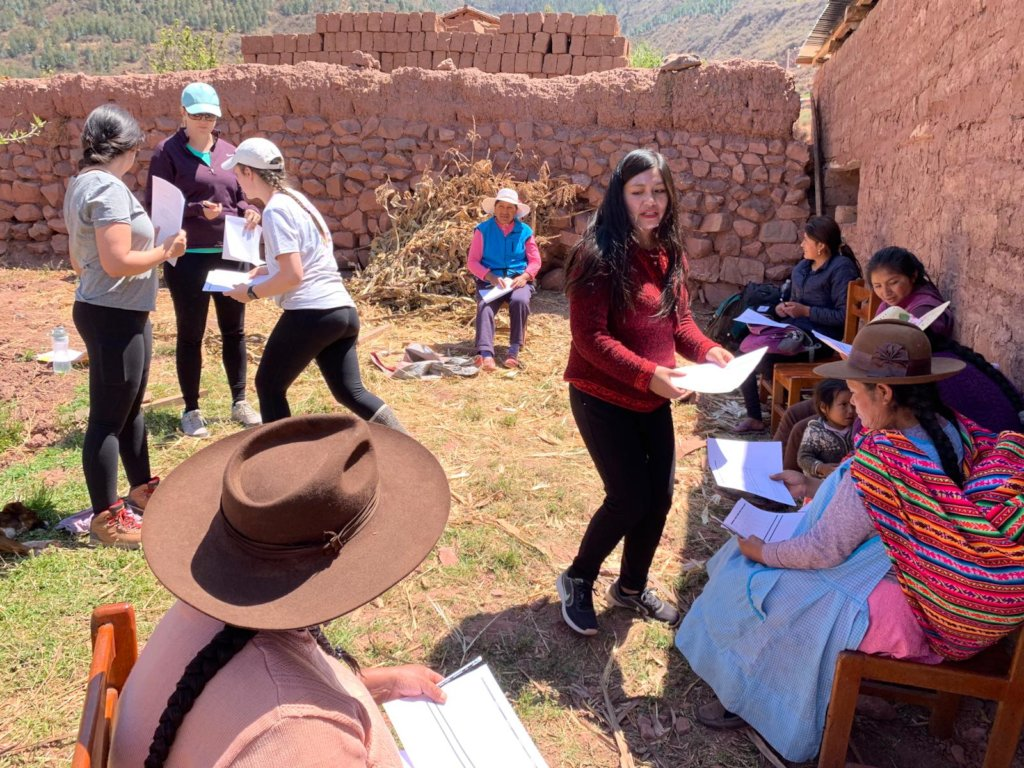 Empower Peruvian Women Living In Poverty Globalgiving