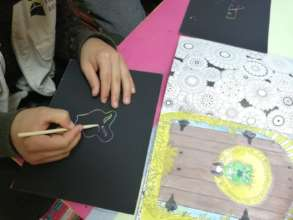 Scratch Paper Art sessions with RVs