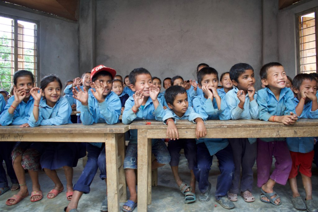 Help us build a school for 100 students in Nepal