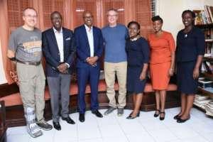 CFACH Board members meet with visiting doctors