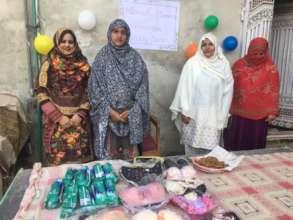 Community baazar created by women post training