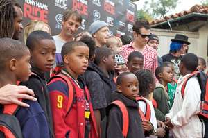 Watts Youth On The Red Carpet
