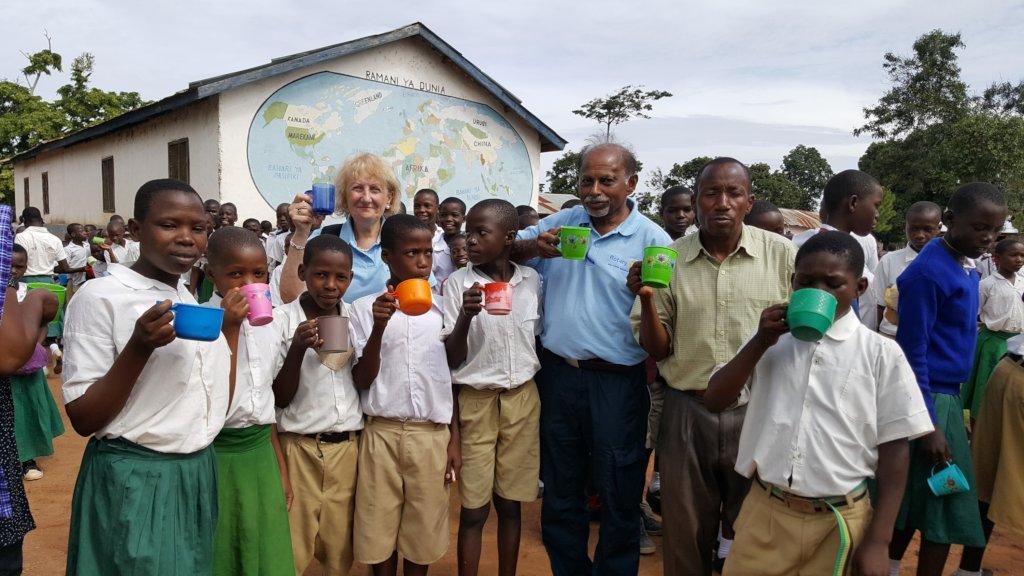 Classrooms and farming help Tanzanian school kids