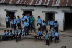 PachaKanya School before we started work