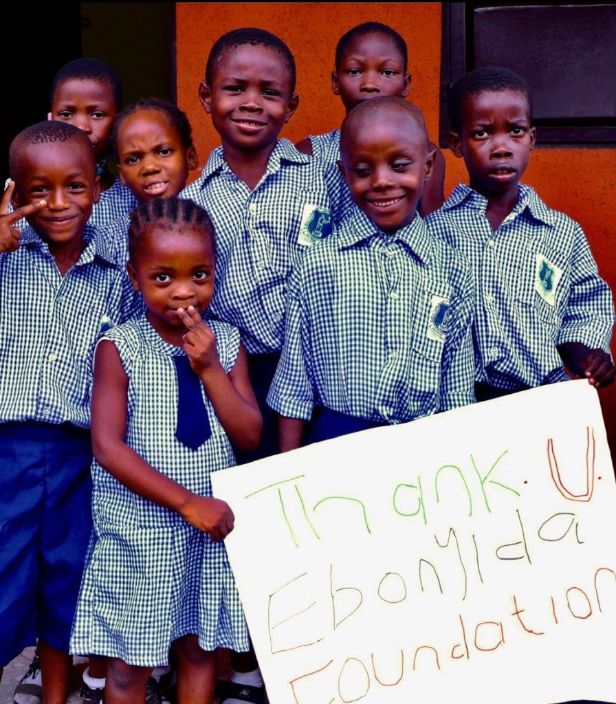 Provide 150 kids School Supplies in Benin City, NG