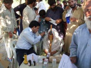 LRBT Eye camp in Punjab