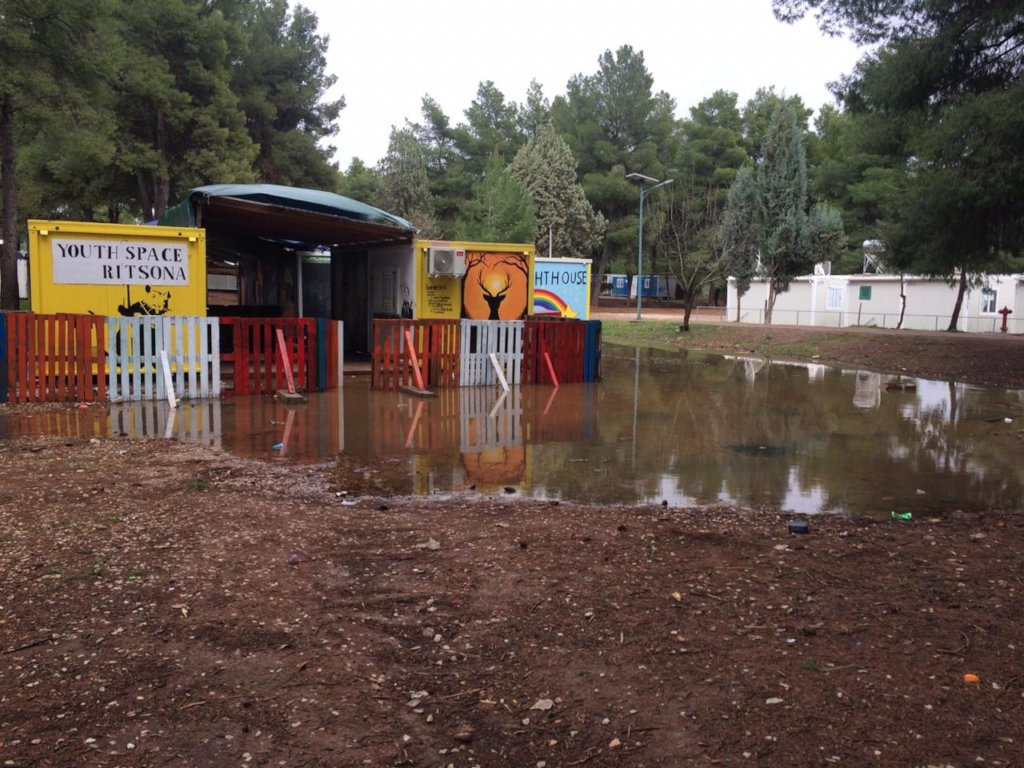 Help Us Recover Our Ritsona Spaces From Flooding