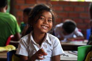 Empowering Cambodian children with language