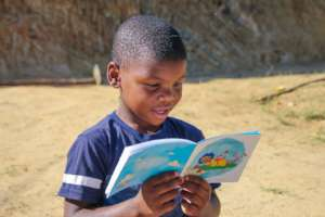 Child reading Book Dash book